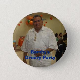 Badge Rond 5 Cm La partie super de Bamby