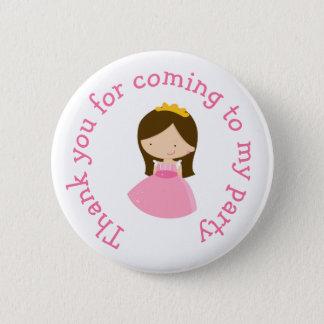 Badge Rond 5 Cm La princesse de brune vous remercient du prochain