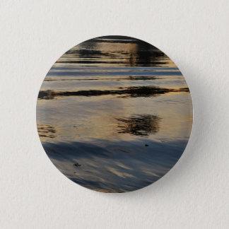 """Badge Rond 5 Cm """"La rivière américaine ondule"""" la collection"""