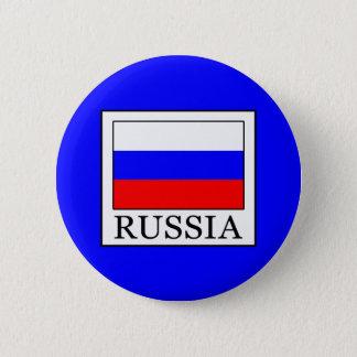 Badge Rond 5 Cm La Russie