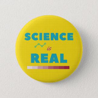 Badge Rond 5 Cm La Science est vrai bouton