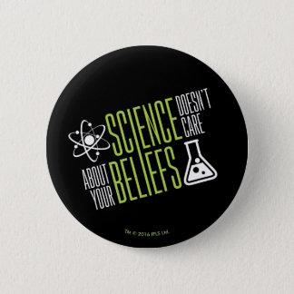 Badge Rond 5 Cm La Science ne s'inquiète pas
