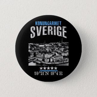Badge Rond 5 Cm La Suède