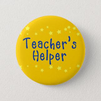 Badge Rond 5 Cm L'aide du professeur