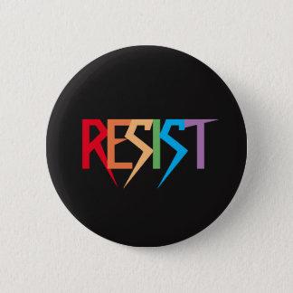Badge Rond 5 Cm L'arc-en-ciel coloré résistent au bouton