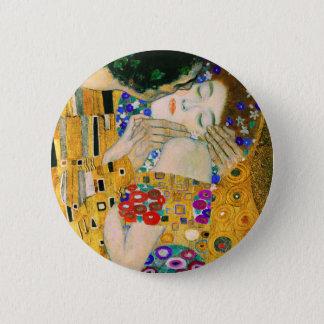 Badge Rond 5 Cm Le baiser par Gustav Klimt