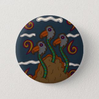 Badge Rond 5 Cm Le Birdworms