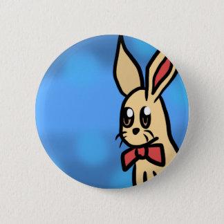 Badge Rond 5 Cm Le bouton de lapin