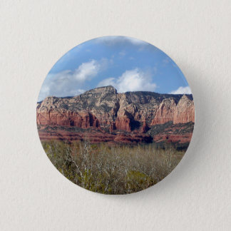 Badge Rond 5 Cm le bouton rond avec la photo du rouge de l'Arizona