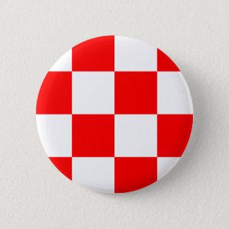 Badge Rond 5 Cm Le Brabant-Septentrional, Pays-Bas