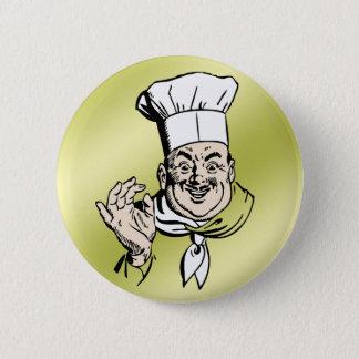 Badge Rond 5 Cm Le chef approuvent