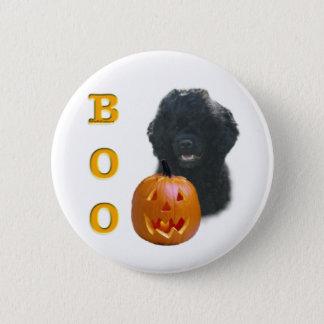 Badge Rond 5 Cm Le chien d'eau portugais huent
