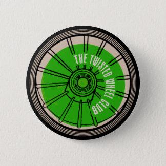 Badge Rond 5 Cm Le club tordu de roue