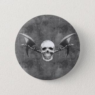 Badge Rond 5 Cm Le crâne N diminue le bouton