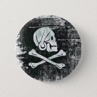 Badge Rond 5 Cm Le drapeau d'Henry de pirate