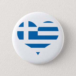 Badge Rond 5 Cm Le drapeau national de la Grèce