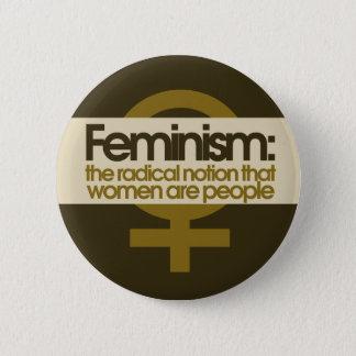 Badge Rond 5 Cm Le féminisme pour des femmes
