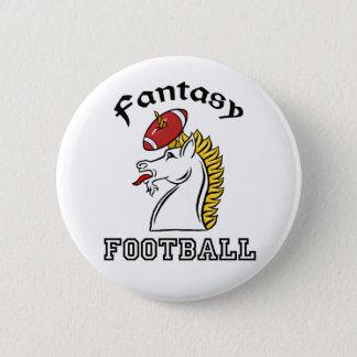 Badge Rond 5 Cm Le football d'imaginaire