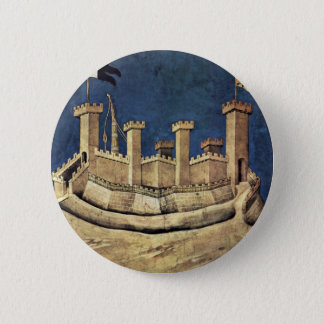 Badge Rond 5 Cm Le Général victorieux Guiddo Riccio DA Fogliano