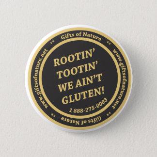 Badge Rond 5 Cm Le gluten libèrent le slogan