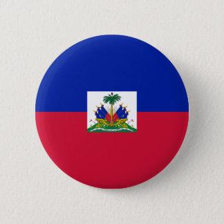 Badge Rond 5 Cm le Haïti