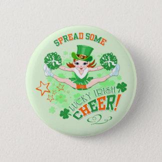 Badge Rond 5 Cm Le jour de St Patrick