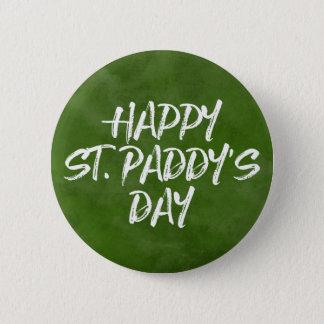 Badge Rond 5 Cm Le jour du paddy heureux de St