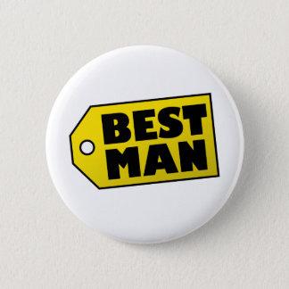 Badge Rond 5 Cm Le meilleur homme