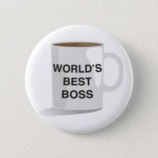 Badge Rond 5 Cm Le meilleur patron du monde