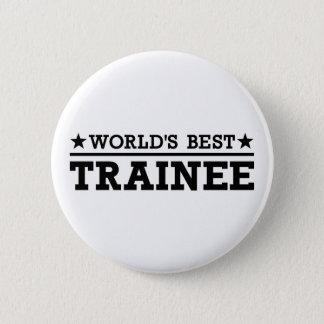 Badge Rond 5 Cm Le meilleur stagiaire du monde