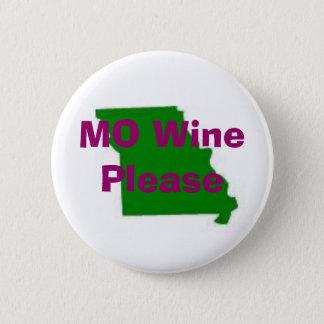 Badge Rond 5 Cm le Missouri, vin de MOIS svp, vignoble de