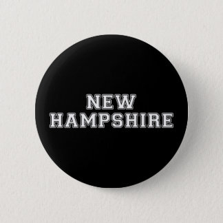 Badge Rond 5 Cm Le New Hampshire
