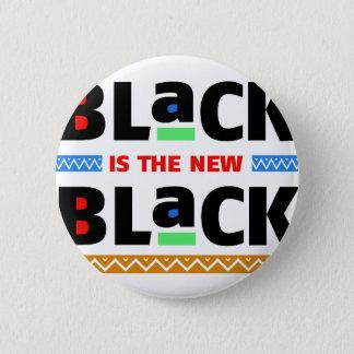 Badge Rond 5 Cm Le noir est le nouveau noir