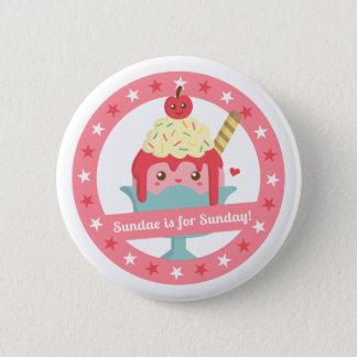 Badge Rond 5 Cm Le parfait mignon est pour le bouton de filles de