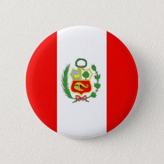 Badge Rond 5 Cm Le Pérou