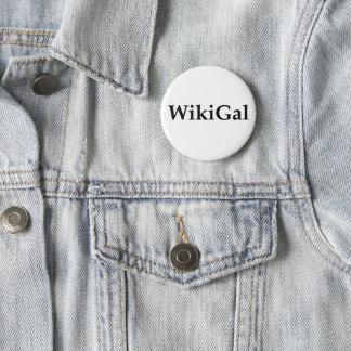 Badge Rond 5 Cm Le petit bouton de Wikigal
