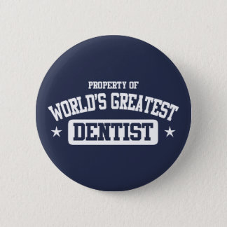 Badge Rond 5 Cm Le plus grand dentiste du monde