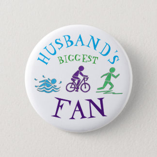 Badge Rond 5 Cm Le plus grand vélo de bain d'Ironman de triathlon