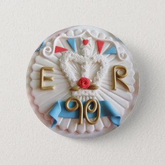 Badge Rond 5 Cm Le quatre-vingt-dixième insigne de célébrations de