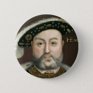 Badge Rond 5 Cm Le Roi Henry VIII