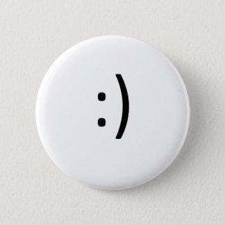 Badge Rond 5 Cm Le sourire soit heureux