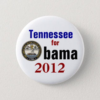 Badge Rond 5 Cm Le Tennessee pour Obama 2012