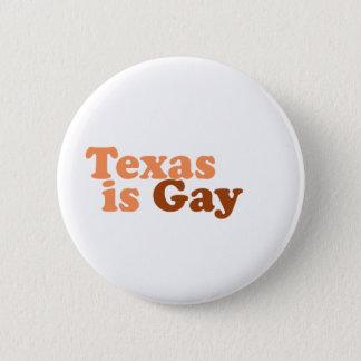 Badge Rond 5 Cm Le Texas est gai