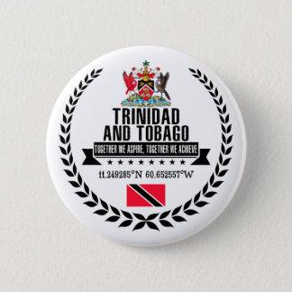 Badge Rond 5 Cm Le Trinidad-et-Tobago