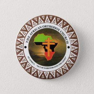 Badge Rond 5 Cm L'église orthodoxe africaine de l'Afrique