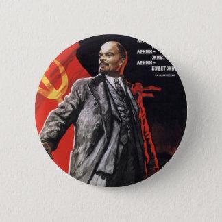Badge Rond 5 Cm Lénine - communiste russe