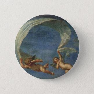 Badge Rond 5 Cm Les anges détaillent d'Adonis ont mené par des