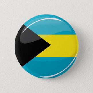 Badge Rond 5 Cm Les Bahamas diminuent en rond et brillant
