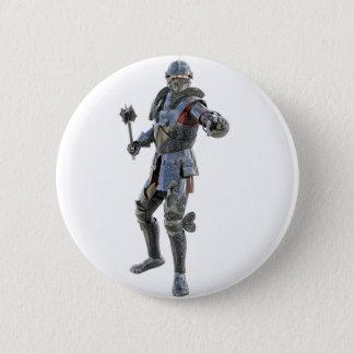 Badge Rond 5 Cm Les chevaliers contestent à son adversaire