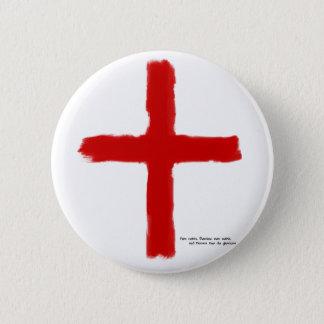 Badge Rond 5 Cm Les croisades - chevaliers de temple